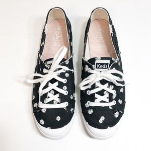 Keds Black Daisy Sneakers